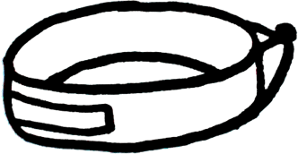 Le bandeau en textile du bandeau Plume pour la respiration